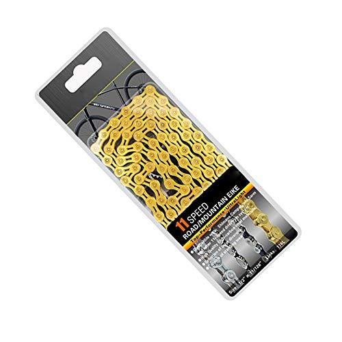 TININNA 8/910/11-Fach Kette für Fahrrad Kettenglieder Speed Fahrradkette Nabenschaltung Kettenglied für Mountainbike, Rennrad