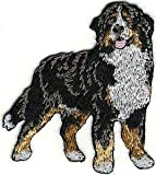 VirVenture 2 1/4' x 2 5/8' Body Bernese Mountain Dog Breed Embroidery Patch Great for Hats, Backpacks, and Jackets.