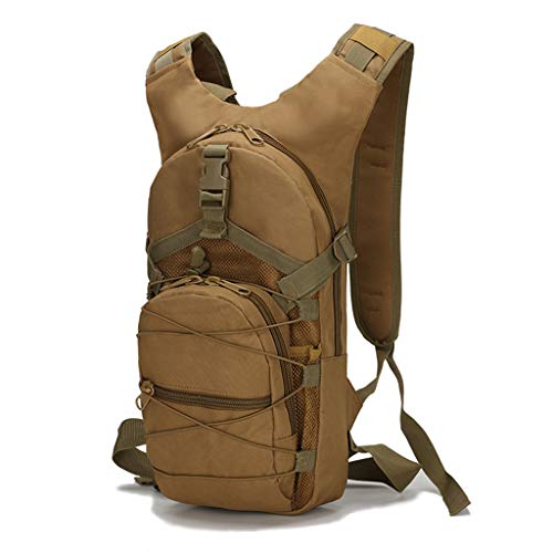PINGDI Tactical Backpack Camouflage Rucksack Bags Waterproof Less Than 20L for Outdoor Sport Hiking Camping Hunting Traveling Cycling Men Women
