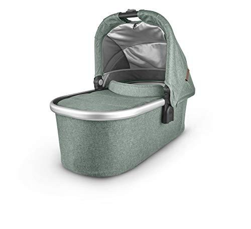 Bassinet - Emmett (Green Melange/Silver/Saddle Leather)