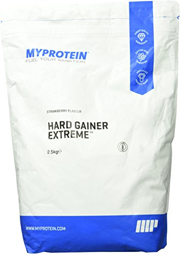 Myprotein Hard Gainer Extreme Strawberry, 1er Pack (1 x 2500 g)