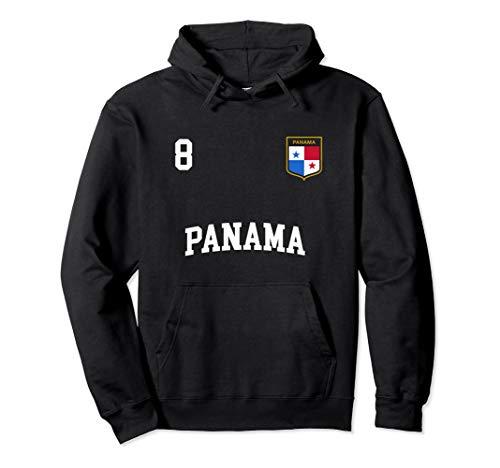 Panama Hoodie 8 Panamanian Flag Soccer Team Football Shirt