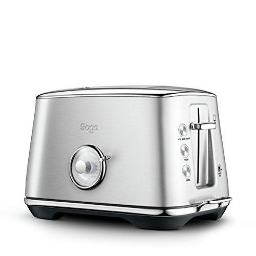 Sage Appliances STA735 Toast Select Luxe, 2-Scheiben-Toaster, Gebürsteter Edelstahl