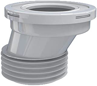 offset toilet pan connector