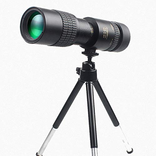 Tsubaya 10-300x40mm Ultra-telephoto Zoom Monocular Telescope With Tripod For Smart Phone Portable Astronomy Beginners - Black