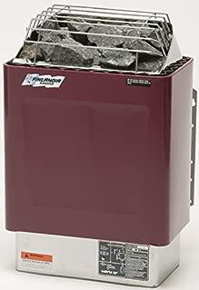 Finlandia FIN-60 Sauna Heater with F-1T Control, 6kw 240v/1ph, Maximum 300 cubic feet