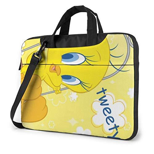 15.6 inch Laptop Tasche Schultertasche Bussiness Messenger Tablet Tasche Laptophülle Twe-Ety Bird