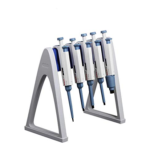 Laboratory Pipette Stand, Stable Holding up 6 Pipettors, Useful Linear Pipettor Stand Pipette Racks for Lab