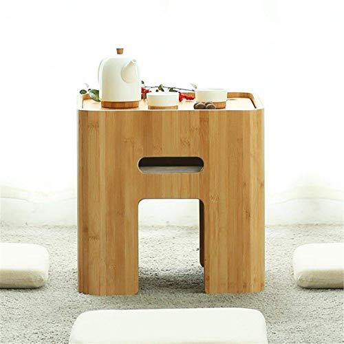 Mesa Auxiliar Mesa De Centro De Bambú Minimalista Moderna Mesa De Madera Baja De Estilo Japonés para El Dormitorio De La Sala De Estar Casa