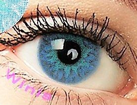 freshtone freshtone farbige kontaktlinsen monatslinsen blau hellblau ft-13bb Farbige Kontaktlinsen 3 Monatslinsen blau hellblau