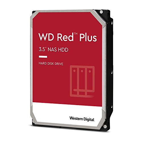 Western Digital HDD 12TB WD Red Plus NAS RAID (CMR) 3.5インチ 内蔵HDD WD120EFAX-EC 【国内正規代理店品】