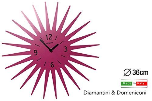 Diamantini und Domeniconi Wanduhr Art.369 Magenta