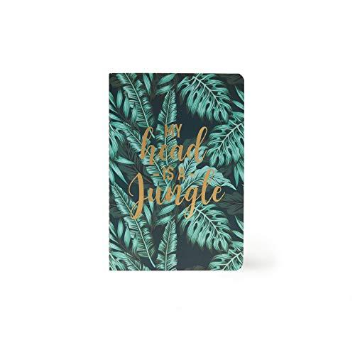 Legami A5NOT0027 - Cuaderno de hojas blancas, A5, Jungle