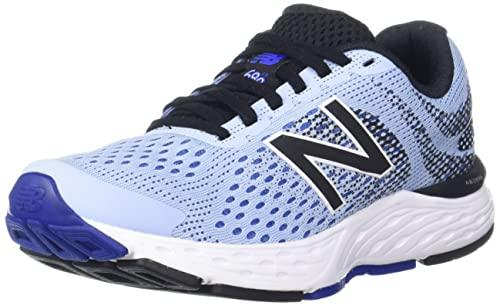New Balance Women's 680 V6 Frost/Cobalt Running Shoe 8.5 B US