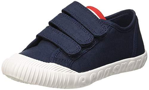 le coq Sportif Unisex-Kinder Nationale Ps Dress Blue Sneaker, Blau, 35 EU