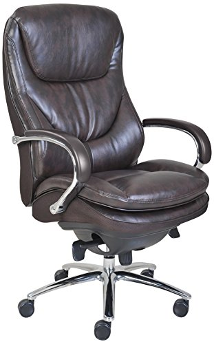 Serta 45637 Executive Puresoft Faux Leather Chair