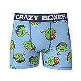 TMNT Freeze Pop Men's Boxer Briefs Shorts Small (28-30) Blue