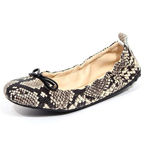 Tod's G1560 Ballerina Donna Flat Laccetto Shoes Woman [40]