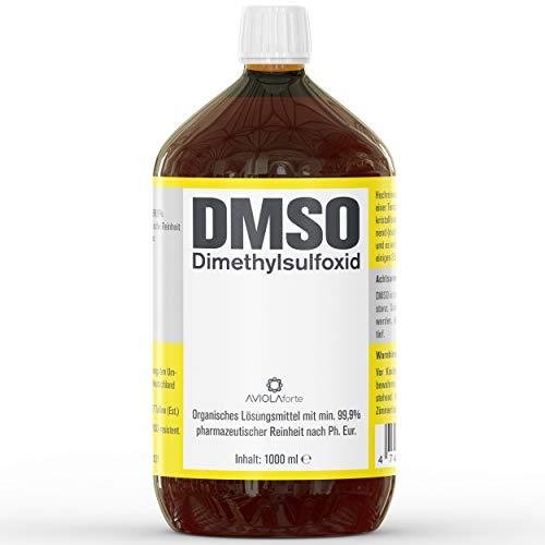 DMSO von AVIOLAforte | Dimethylsulfoxid mit 99,9% pharmazeutischer Reinheit aus Deutschland | Braunglas Apothekenflasche | 100ml, 250ml, 500ml oder 1000ml