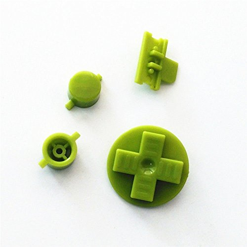 Gras Grün-für Gameboy dmg-01Keypads A B Tasten mit cradlealarm Pack Ersatzteile