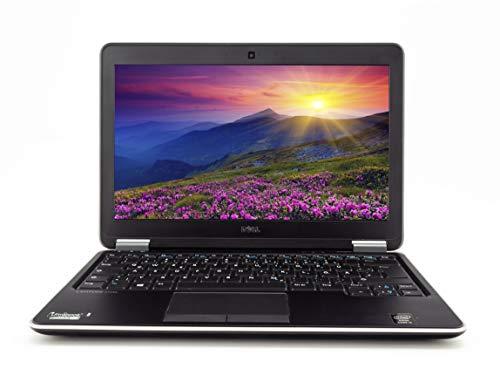 Dell Notebook Latitude E7240 31,75 cm 12,5 pollici WXGA | Potente Laptop | Intel Core i5 2 x 1,9 GHz 8 GB RAM 256 GB SSD Win 10 Home Tastiera DE