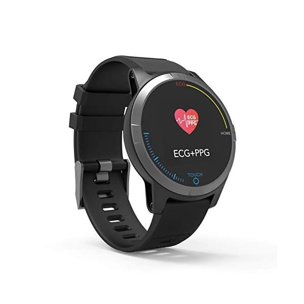 PRIXTON – Reloj Inteligente Smartwatch para Android e iOS con Electrocardiograma, Presión en Sangre, Pulsometro… 6