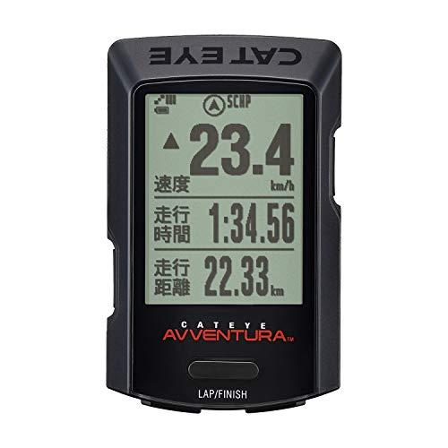 キャットアイ(CAT EYE) GPSサイクロコンピュータ AVVENTURA CC-GPS200 スピードメーター 自転車