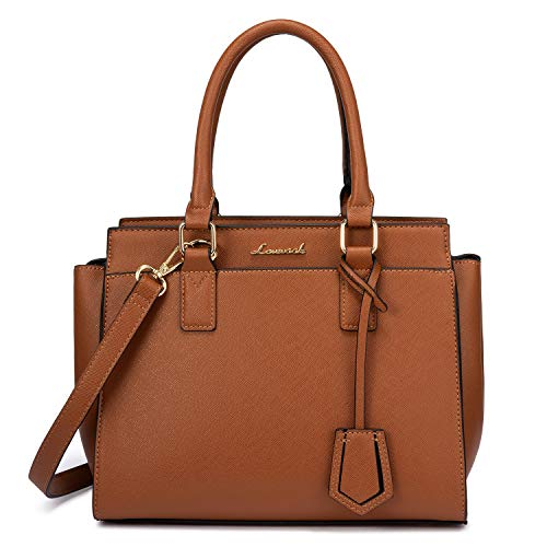 Purses and Handbags for Women Fashion Ladies Top Handle Satchel Shoulder Tote Bags Faux Leather