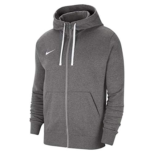 Nike Herren Team Club 20 Kapuzenjacke, Charcoal Heathr/White/White, XL