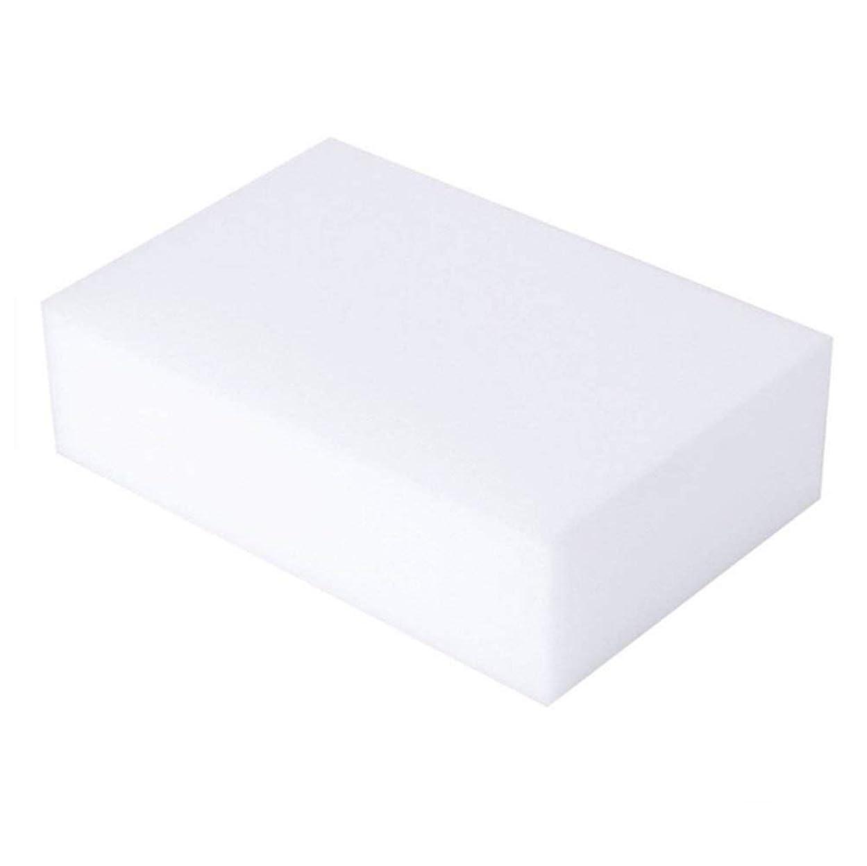 治安判事発明染色マジッククリーニングスポンジ マジック消しゴム スポンジメラミンフォームクリーニングパッド 全表面消しゴムスポンジ バスルーム キッチン 床