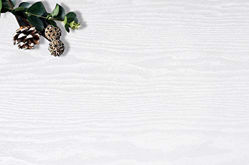 118''x17.7'' White Wood Peel and Stick Wallpaper White Shiplap White Wood Contact Paper White Wood Wallpaper White Wood Removable Wall Paper White Wood Plank Self Adhesive Wallpaper Shelf Drawer Liner