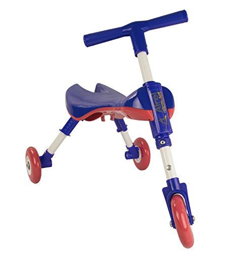 Airel Correpasillos Bebé Plegable | Triciclo Sin Pedales Infantil | De 1 a 3 años, Niños, Azul Marino, Talla Única