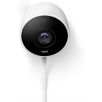 Google Nest Cam - Outdoor Security Camera  Night Vision Surveillance Camera, White