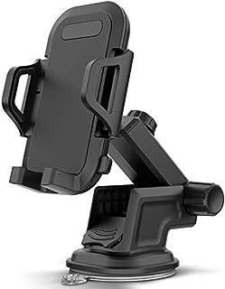 ZWOOS Handyhalter fürs Auto, Universal KFZ Handyhalterung mit Saugnapf am Windschutzscheibe oder Armaturenbrett (01)