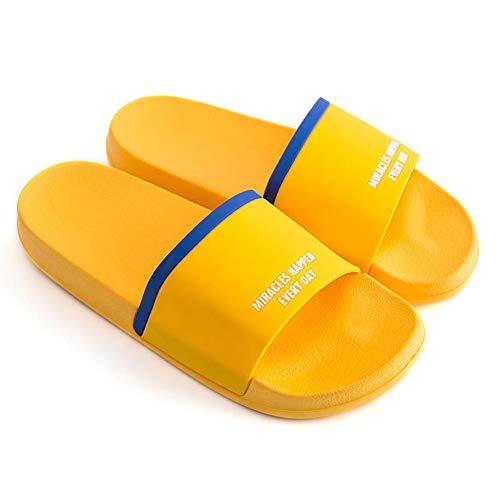 Zapatillas de Mujer Plana Casual Beach Flip Flops Verano Non Slip casa Interior Zapatillas cómodas