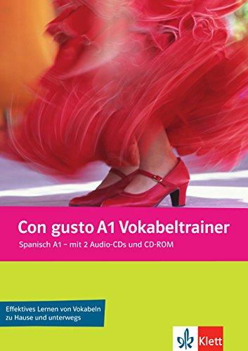 Con gusto A1 Vokabeltrainer: Vokabelheft + 2 Audio-CDs + CD-ROM (PC/Mac)