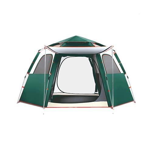 ZEL 3-4 Personas Campaña de Camping Familiar, Carpa portátil, Tienda automática emergente instantánea, Impermeable al Aire Libre, Resistente al Viento y Resistente a los Rayos UV, fácil de Instalar