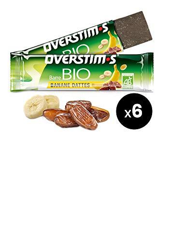 OVERSTIM.s - Barrita Ecológica (6X22 G) - Plátano-Dátiles