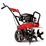 Earthquake 31043 Badger Heavy Duty Front Tine Tiller, 149cc 4-Cycle Kohler Engine, Gear Drive Transmission, Forged...