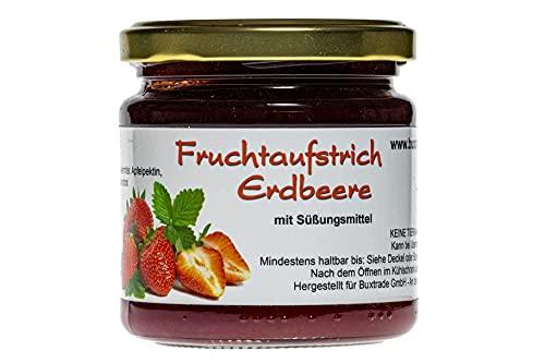10 Gläser | Fruchtaufstrich Erdbeere |...