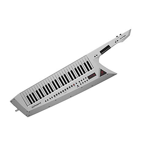 Teclado sintetizador profesional Roland Keytar AX-EDGE White