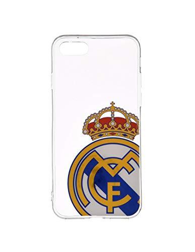 Wondee Global Services Carcasa Transparente con Escudo Color del Real Madrid Club de Futbol para Iphone6/6S