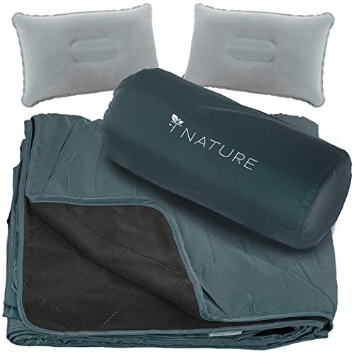 T Nature Waterproof Blanket Perfect for Camping Picnic...