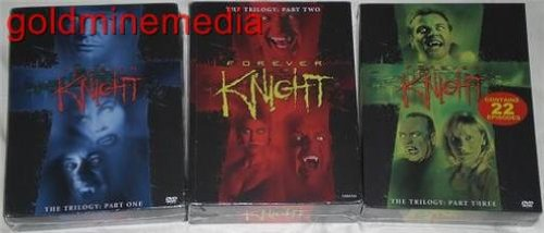 Forever Knight - The Trilogy Complete Series Parts 1-3 [DVD] (Part 1 2 3)