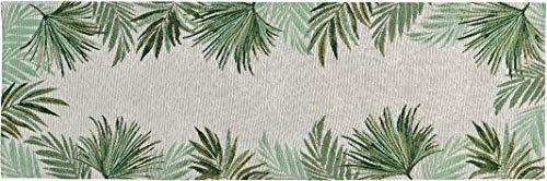 Sander Gobelins Palm Leaf buntgewebt (Tischläufer ca. 32x48cm)