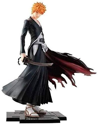 HCYSNG Ichigo Kurosaki Anime Action Figure 9 Inches PVC Figures Collection Model Character Statue Toys