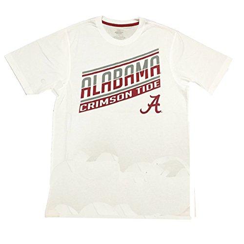 Colosseum SALE Alabama Crimson Tide NCAA Angler T-Shirt Color White By (Medium)