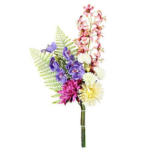 高級インテリア仏花 ミニリリー 約70cm 一束 枯れないお花 造花 お手入れ不要 お墓 お仏壇 お盆 お彼岸