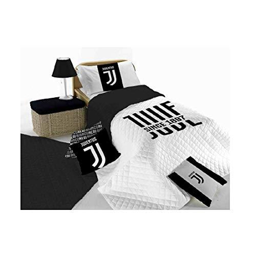 Juventus Copriletto Trapuntato Singolo Prodotto Ufficiale 170x260 trapuntino Una Piazza