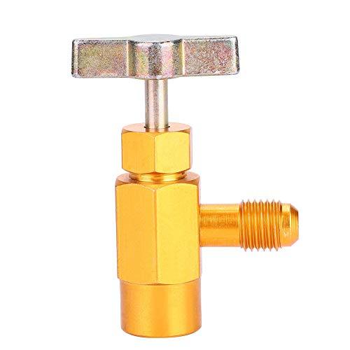 aqxreight - Dosenausgabe passt für R-134a R-134 AC Kältemittelhahn 1 / 2inch Acme Gewindeventil Werkzeug